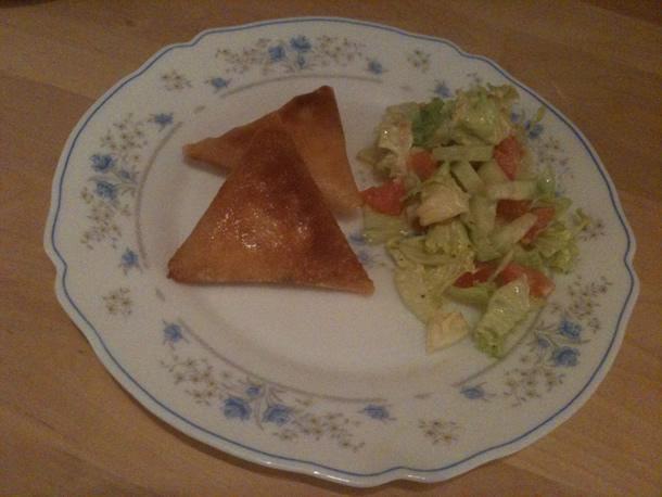 Mini briwat' aux kiri et jambon/blanc de poulet
