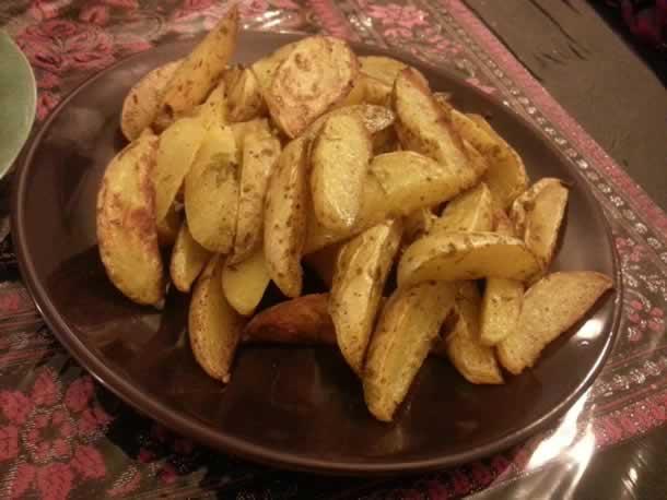 Potatoes maison façon country