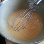 la pâte est prête!