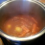 Puis les pommes de terre