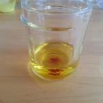 pistils de safran + eau de fleur d