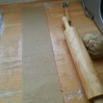 bande de pâte
