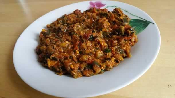 Za3louk ou caviar d'aubergine à la marocaine