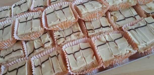 Castels algériens (glaçage au 2 chocolats)