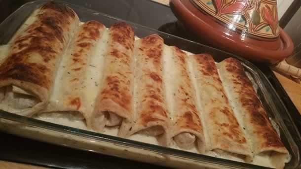 Enchiladas au boeuf et pepperoni