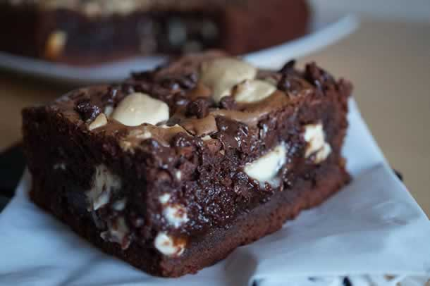 Brownie aux 2 chocos