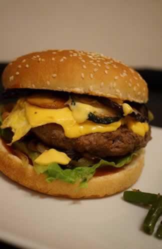 Délicious burger