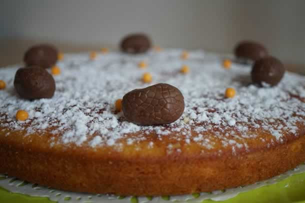 Gâteau fondant à l'orange