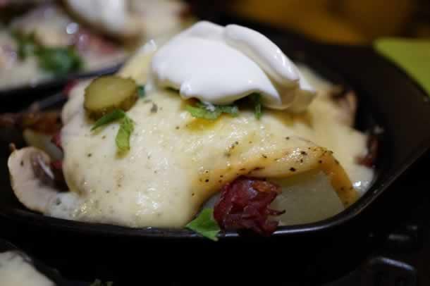 Raclette originale et savoureuse