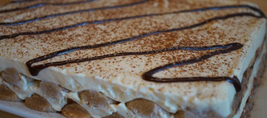 Gâteau tiramisu au chocolat