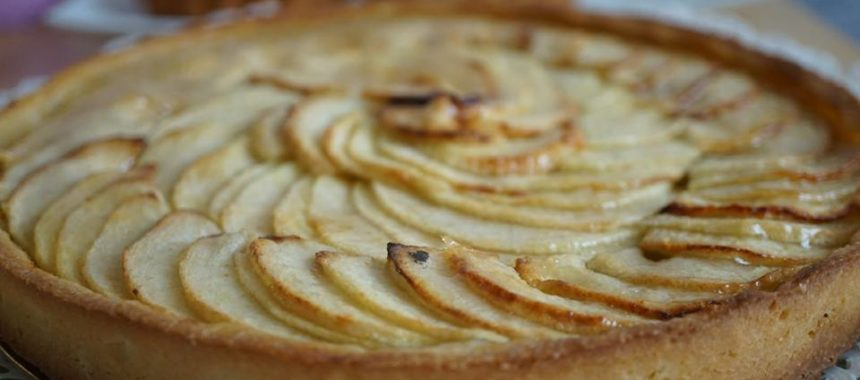 Tarte aux pommes traditionnelle