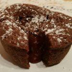 Fondant au chocolat à la fleur de sel