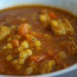 'Aïch au veau, soupe algérienne