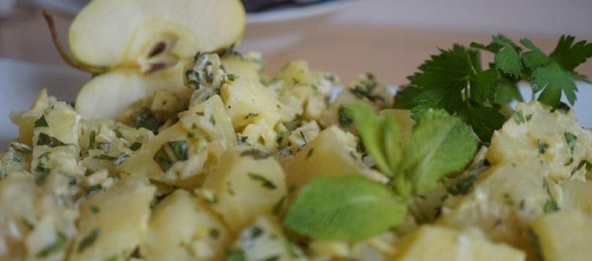 Salade aux 2 pommes
