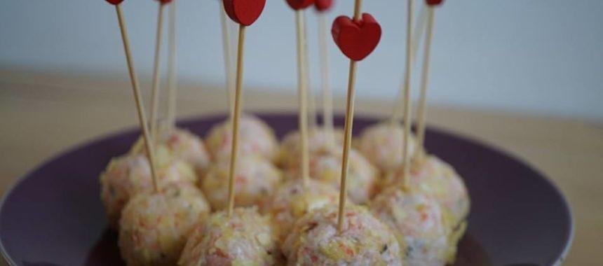 Boulettes apéritives de surimi