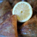 Briwat' à la viande et aux carottes farcis au kiri