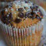 Muffins aux pépites de chocolat très moelleux