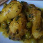 Poulet aux olives à la marocaine