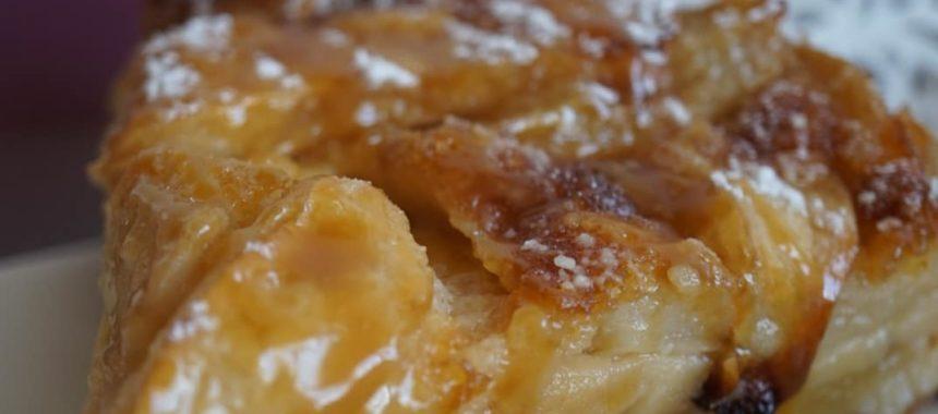Gâteau aux pommes/poires au caramel au beurre salé