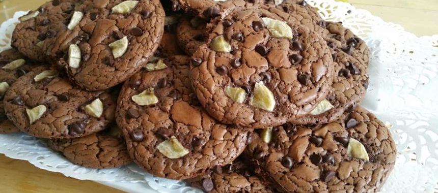 Cookies Outrageous Chocolat&Banane façon Martha Stewart
