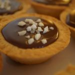Mini tartelettes aux chocolat et confiture de lait caramélisé