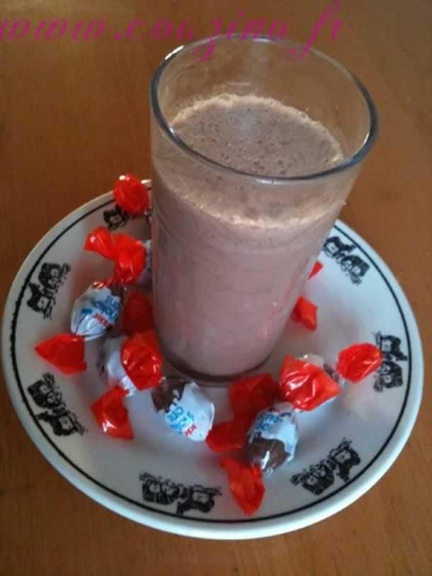 Milk-Shake au nesquick et chocobons