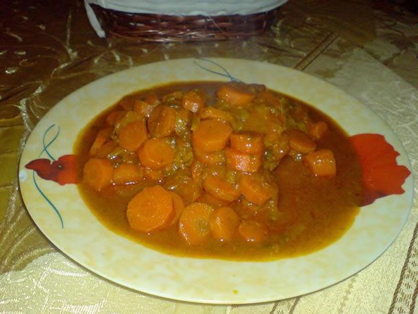 Marr'ka à la viande et aux carottes