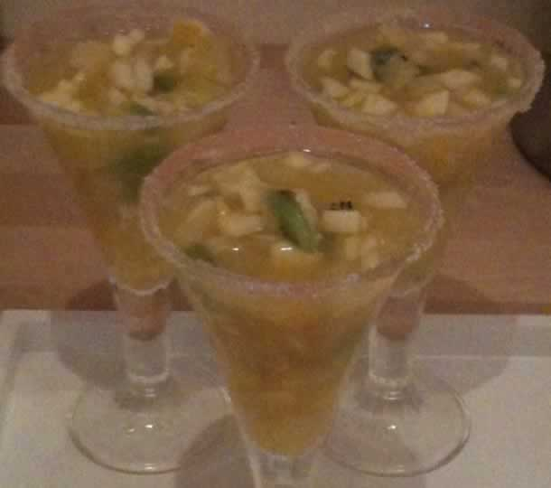 Salade de fruits à l'oasis