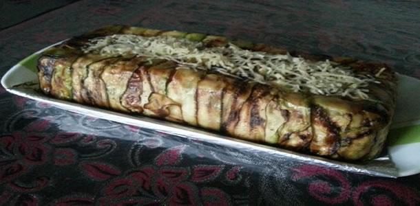 Tourte de pâtes aux courgettes