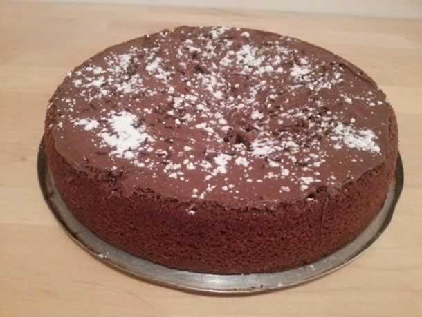 Gâteau au nutela et smarties