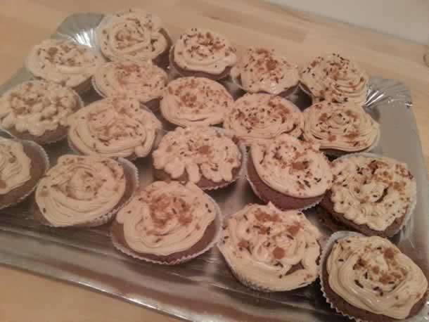 Cupcakes au nutela et spéculos