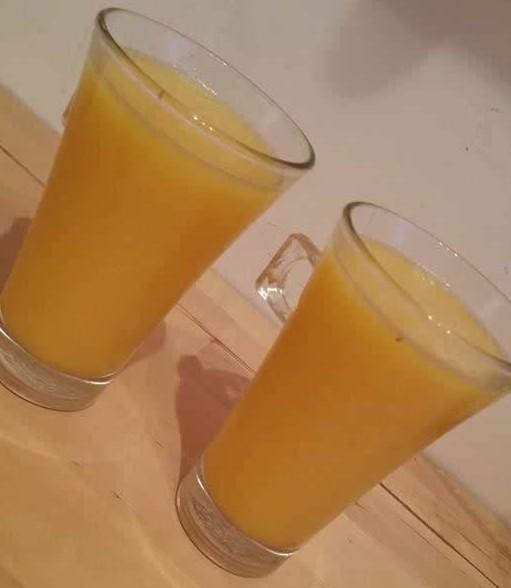 Jus d'oranges/poires/pommes