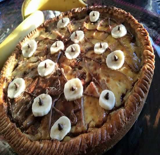 Tarte bananes/nutella