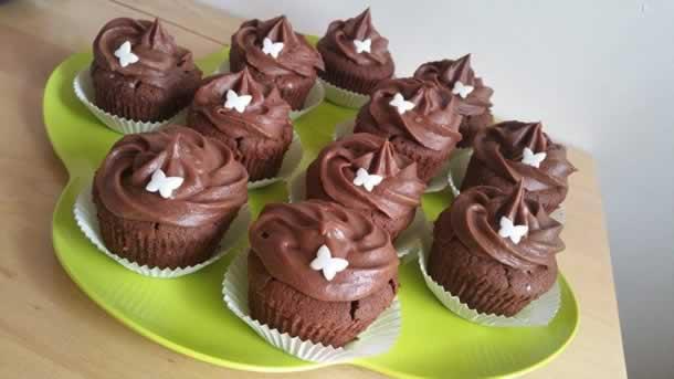 Cupcakes tout choco!!!