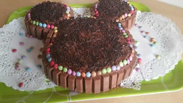 Gâteau Mickey tout choco!!!
