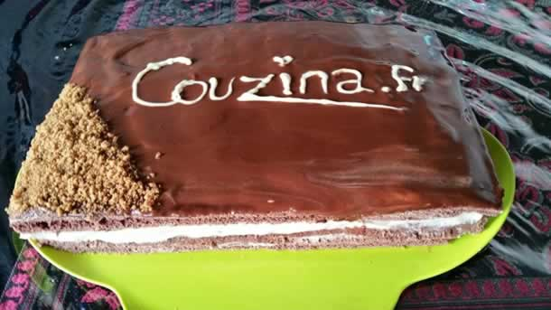 Gâteau kinder délice au spéculos