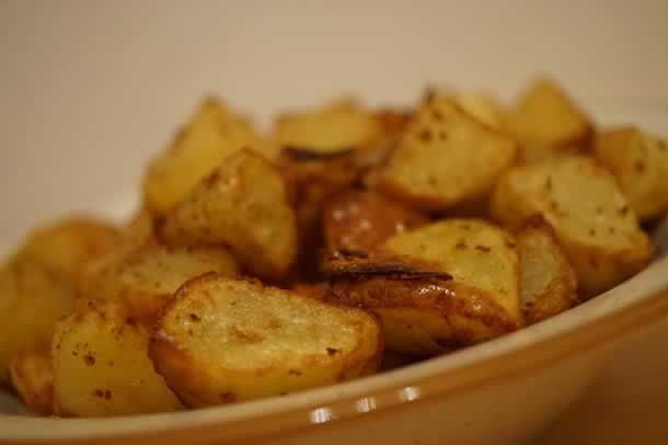 Pommes de terre au sel & poivre (à l'actifry)