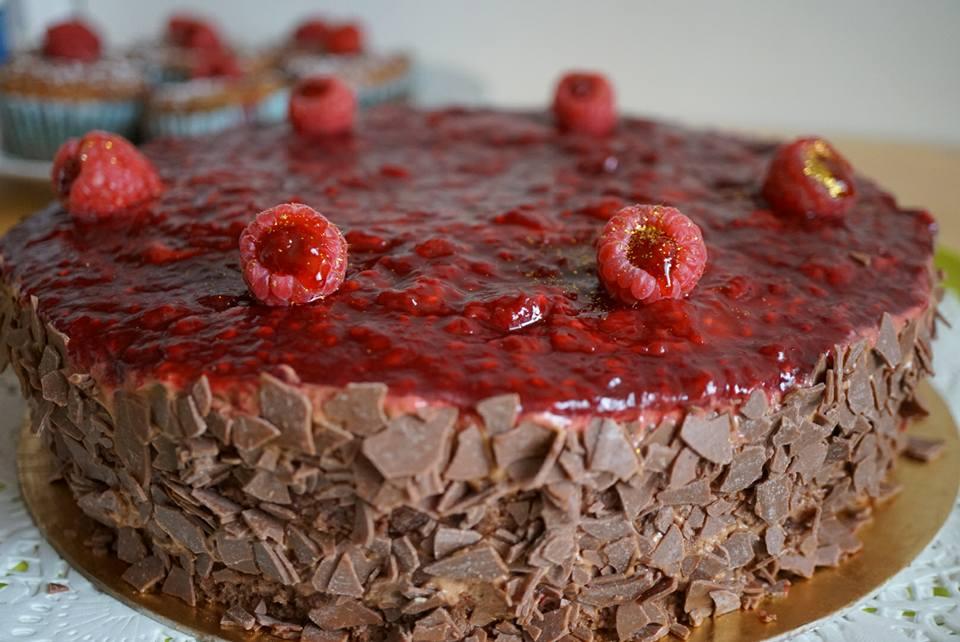 Entremet Choco Framboise De Christophe Felder Couzina Fr Cuisine
