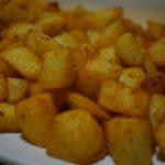 Pommes de terre à l'ail et au paprika (à l'actifry)