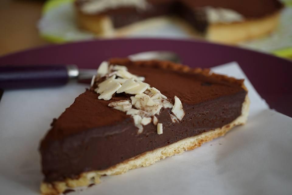 Tarte au chocolat recette traditionnelle cuisine du monde - Recette tarte normande traditionnelle ...