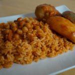Riz au poulet à la tunisienne
