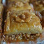 Baqlawa aux cacahuètes (pâte maison)