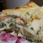 Lasagnes au saumon & épinards