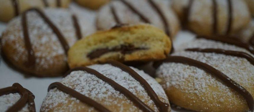Sablés fourrés au Nutella