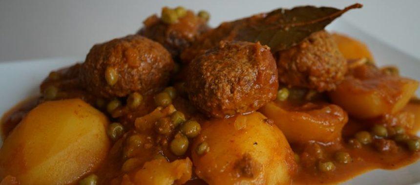 Marqa de boulettes aux légumes à la tunisienne